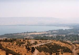 Vista del lago Tiberíades © Joaquim Pisa