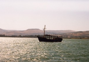 Barca turística en Tiberíades © Joaquim Pisa