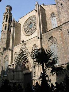 fachada santa maria mar